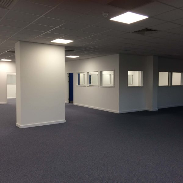 Office carpet and internal glass cleaned